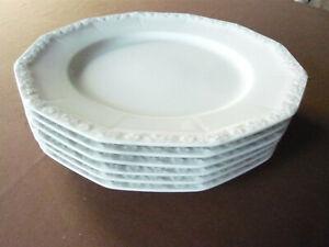 Rosenthal, Maria weiß,classic, 6 große Speiseteller, ca.27 cm, unbenutzt, 1.Wahl