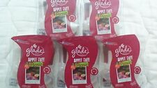 10 Glade PlugIns Scented Oil Refills Apple Tree Picnic FALL AUTUMN 5 NEW PACKS