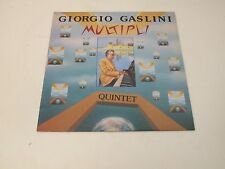 GIORGIO GASLINI QUINTET - MULTIPLI - LP 1981 SOUL NOTE RECORDS ITALY MINT-/EX++
