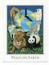 WWF Peaceful Planet Marilee Carroll Christmas Greeting Card, New & Unused