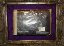 Ralph Lauren Estate ~SANDBAR~ Queen Flat Sheet _Rare_ Sateen_NIP_Solid Beige
