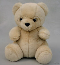 Snuggle Ad Teddy Bear Plush German Comfort Kuschelweich 9.5in Seam Tag Elite Vtg