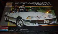 MONOGRAM MUSTANG MONKEES CONVERTIBLE MODEL CAR MOUNTAIN KIT FS 1/24