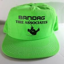 VTG-1980s Bandag Tire Assoc.  trucker snapback hat cap Made in USA