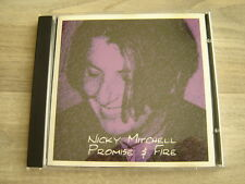 folk CD alt rock *HEAR* private acoustic FEMALE SINGER SONGWRITER nicky mitchell