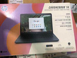 HP 14-ca023nr 14 inch (32GB, Intel Celeron, 1.10 GHz, 4GB) Chromebook - 4BS38UA