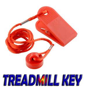 UK Universal Running Machine Safety Key Treadmill Magnetic Security Switch Lock