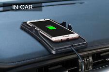 TOP Qi Auto Halter KFZ Handyhalter Wireless Charger Induktionslade Ladegeräte