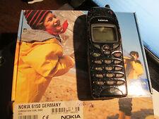 Nokia 6150 OVP dunkelblau Metallic Heft in D Lader SIMfrei gebraucht Art. 94 X