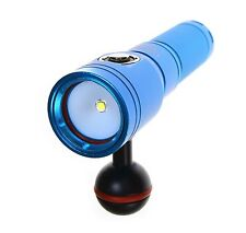 ScubaLamp PV10SP 1200 Lumen Underwater Photography Video Light 100m 330ft BLUE