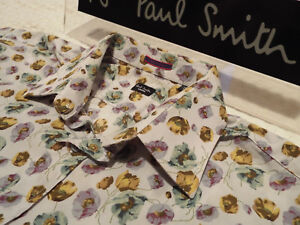 """PAUL SMITH Mens Shirt 🌍 Size 16"""" (CHEST 44"""") 🌎 RRP £95+📮 FLORAL LIBERTY STYLE"""