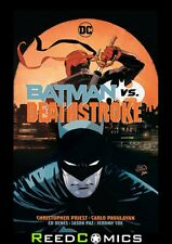 BATMAN VS DEATHSTROKE HARDCOVER New Hardback Collects (2016) #30-35