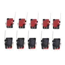 10x V-153-1C25 Limit Switches Long Straight Hinge Lever Type SPDT Micro Switch