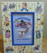 Mary Engelbreit Mother Goose Picture Photo Frame Nursery Animals 4x6 Opening