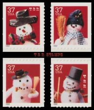 Holiday 2002 Snowmen 3688-91 3691 Singles Set 4 From Vending BK293 MNH - Buy Now