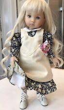 "10"" Doll Boneka Dianna Effner Tuesdays Child Navy Dress + Pinafore 24cm sld1"