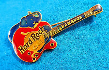 PROTOTYPE BANGKOK BLUE ELEPHANT GIBSON BYRDLAND RED GUITAR Hard Rock Cafe PIN