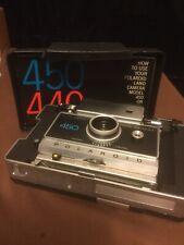 Polaroid 450 Camera. Instructions.