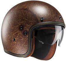 Hjc Fg-70s Vintage motocicleta casco Jet Composite - mate negro L