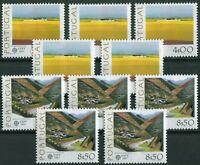 5 x Portugal CEPT Nr. 1360 - 1361 postfrisch MNH Michel 40,00 € 1977 Europa