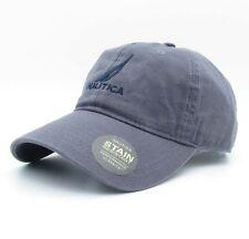 Nautica Baseball Cap Unisex Gray Hat Tennis Golf Casual Sport Caps 01