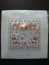 Counted Cross Stitch Sampler Kit - Sandringham House