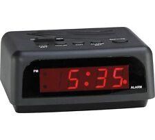 Sveglia DIGITALE costante avrà ti alzi dal letto nel giorno Nero
