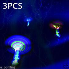 3x Dragonfly Toy Flash Kids Children Flying Rotor LED Light Up Gift Spinning e