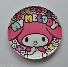 "Sanrio My Melody with Blossom Plastic Plate 8""   FOR SALE IN JAPAN ONLY"