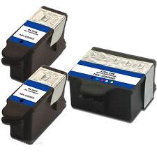 3 Pack NEW #10 Ink Combo Fits Kodak Hero 6.1, Hero 7.1, Hero 9.1 Printer