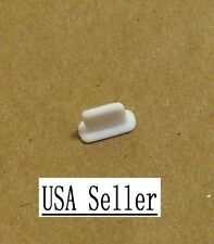 Iphone x 8 7 6 6s plus 5 5S 5C White dust cap for charger slot plug USA Seller