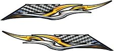 """Boat Car Truck Trailer Motorcycle Graphics Decal Vinyl Stickers Flag 25"""" X 4"""""""
