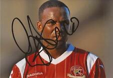 WALSALL: CRAIG WESTCARR SIGNED 6x4 ACTION PHOTO+COA