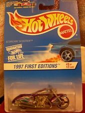 Hot Wheels 1997 First editions Scorchin' Scooter #9 of 12