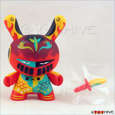 Kidrobot Dunny 2012 Apocalypse figure Dragon Knight by Patricio Oliver loose