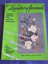 LAPIDARY JOURNAL - ROSE INTARSIA - July 1965 v 19 # 4
