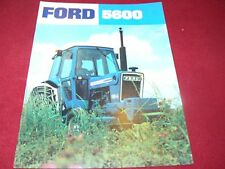 Ford 5600 Tractor Dealer's Brochure AD2180