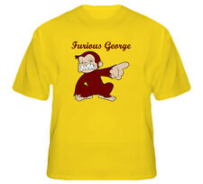 Furious George Cartoon Evil Monkey Funny Joke T Shirt