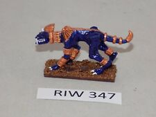 Warhammer WARMASTER TOME KINGS 1 UNIT SPHINX well painted BLUE (R!W 347)