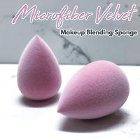(2 pack) Microfiber Makeup Sponge - Velvet Softness