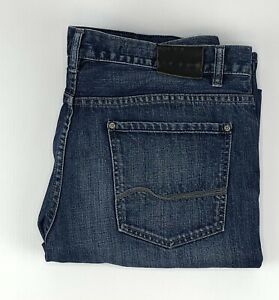 Jag Jeans Low Rise Boot Cut Distressed Look Denim Jeans Mens Size 36