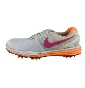 Women's Nike Lunar Control Golf Shoes Size 8 Pink Orange Lunarlon 704676-102
