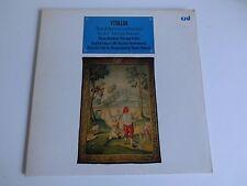 VIVALDI Four Seasons UK g/f slv LP+insert 1976 CRD original instr. Standage LP