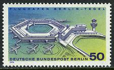 Germany-Berlin 9N349, MNH. Berlin-Tegel Airport and Terminal. Airplanes, 1974