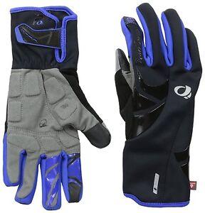 Pearl Izumi Elite Softshell Women's Cycling Gloves 14241403 Black/Blue Large