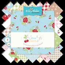 """Sew Cherry 2 42-10"""" Fabric Squares Stacker, Lori Holt/Bee in Bonnet, Riley Blake"""