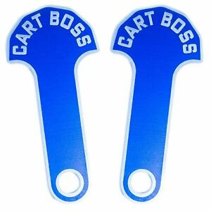 Cart Boss - Shopping Cart Coin Release Key Loonie/Quarter Metal Anodized Colours