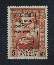CKStamps: Portugal Angola Stamps Collection Scott#C7 NH OG Overprint