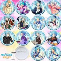 14PCS Anime Ensemble Stars Shino Hajime Badge Itabag Pin Button Holiday Gift