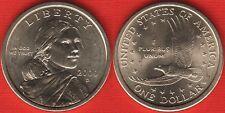 "USA 1 dollar 2000 D mint ""Sacagawea Dollar"" UNC"
